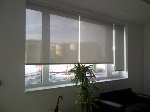 Internal roller blinds