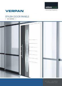 Schuco Aluminium Main Door Panels