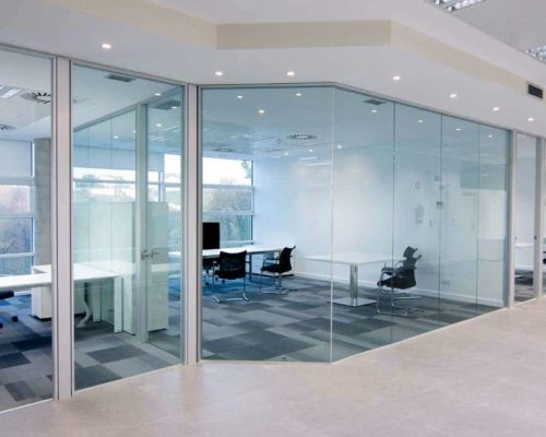 Office space separation partitioning can increase employee productivity